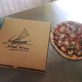Take away pizzas at the Deal Hoy Deal